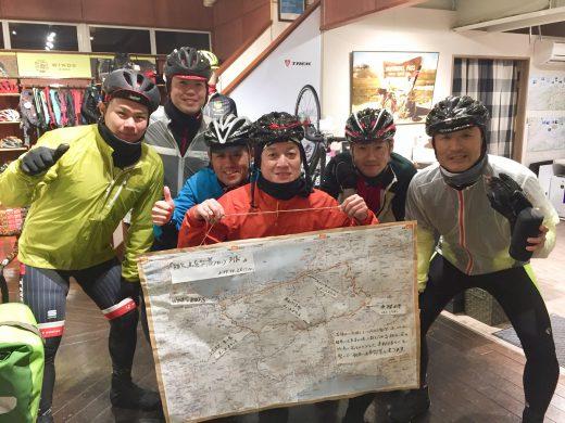 初冬の山岳ライド 11/26フォトレポ 参加の皆さんお疲れ様でした!