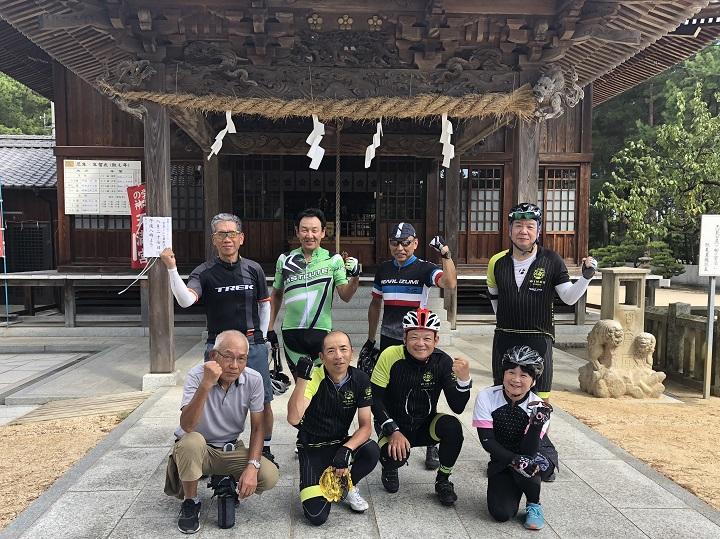 """""""55歳からのクラブライド""""Gentle Ride・桜井海岸へ♪ 8/26フォトレポ"""