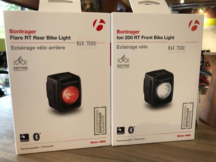 【最新ライト入荷】ION 200 RT・Flare RT・・旧モデルよりパワーアップ