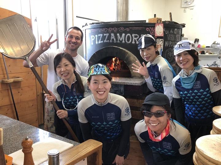 【水曜女性ライド・フォトレポ】9/12 雨の心配しながら・・やっとpizzaライド!
