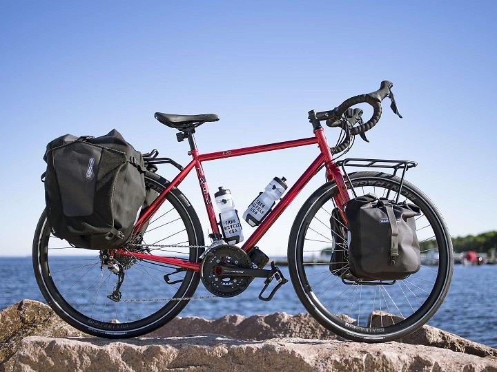 【520:スチール製ツーリングバイク入荷】TREKの原点は旅のバイク