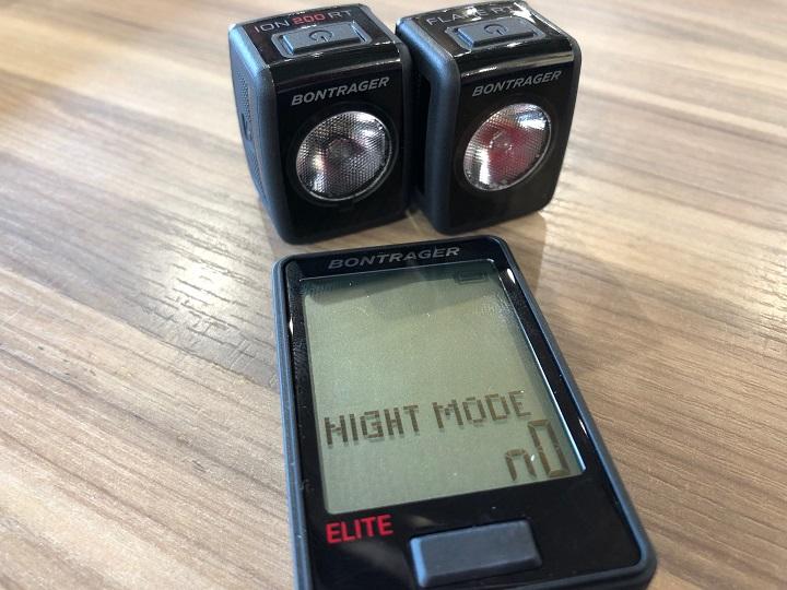【新・サイクルコンピューター】ライトの自動点灯も可能の便利なサイコン登場です!「RIDETime Elite」セット価格もアリ♪