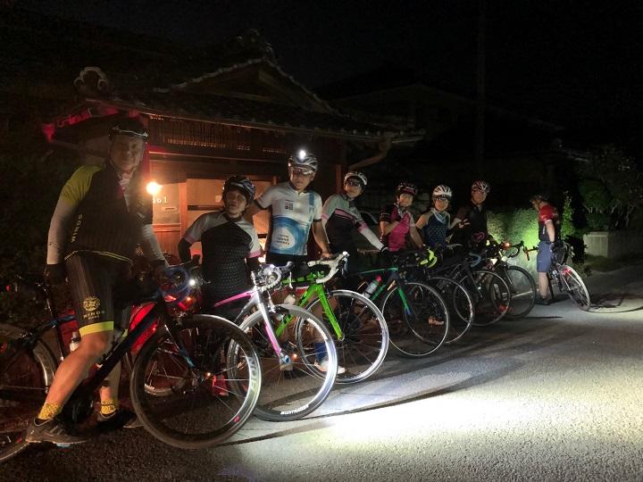 7月のGentle Rideとナイトライド・フォトレポ!「花火とノイチ飯deナイトライド」