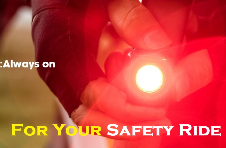 【秋のセーフティライド・キャンペーン】明るいライト・目立つウェアで安全に楽しく走ろう!※11月末まで