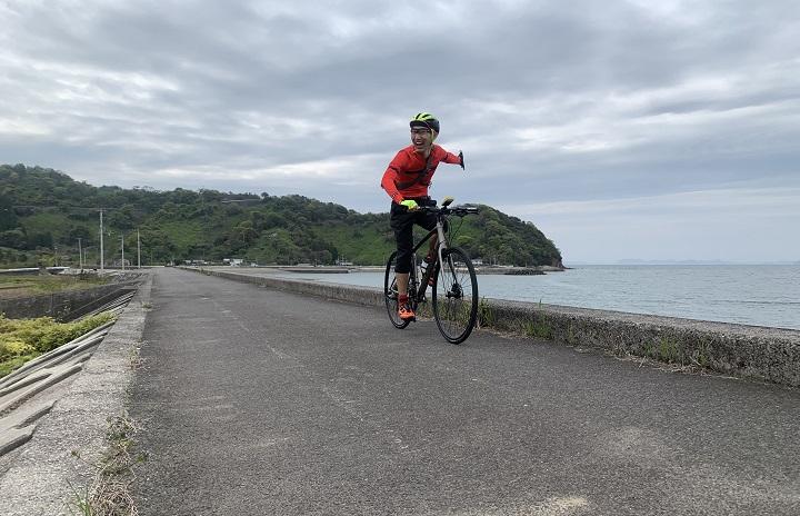 【クロスバイクで四国中央市&新居浜市サイクリング】地図を片手に