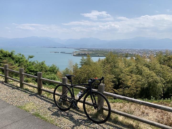 【ロードバイクで水の都西条市をサイクリング】身近な所に楽しさいっぱい